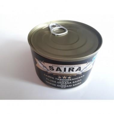 SAIRA FILET W OLEJU 250G