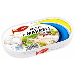 MAKRELA FILET  W OLEJU 170G...